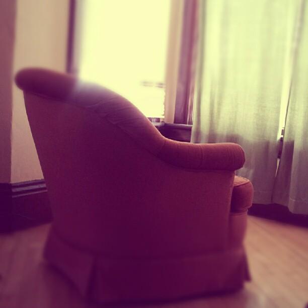 The Orange Chair.