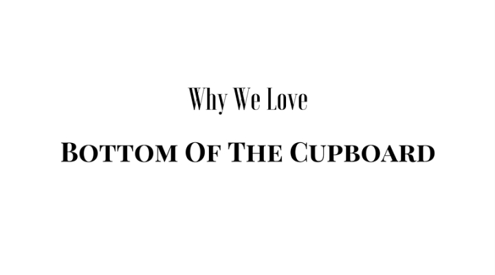 Interview with Amy Rush Creator of Bottom Of The Cupboard (1)