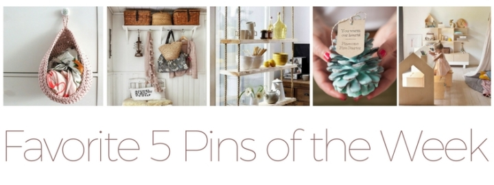 Favorite 5 Pins of the Week